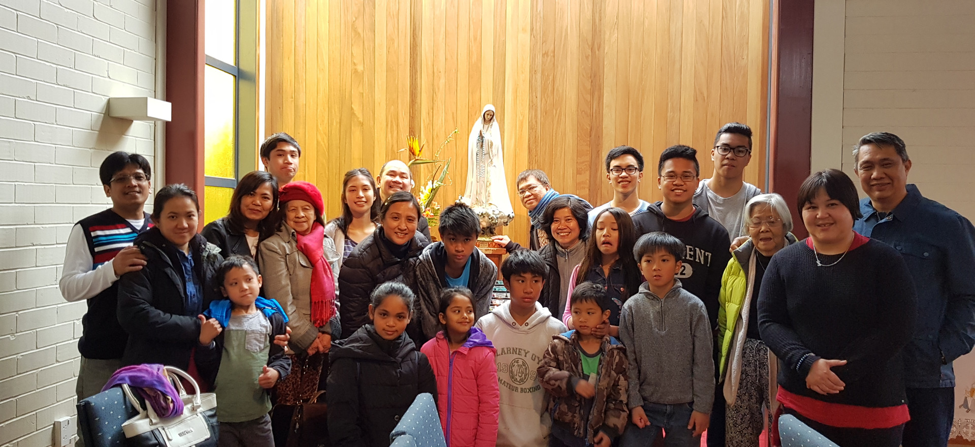 Family Pilgrimage OUr Lady of Fatima Shr