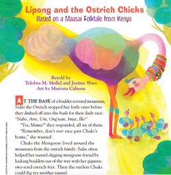 Lipong and the Ostrich Chicks