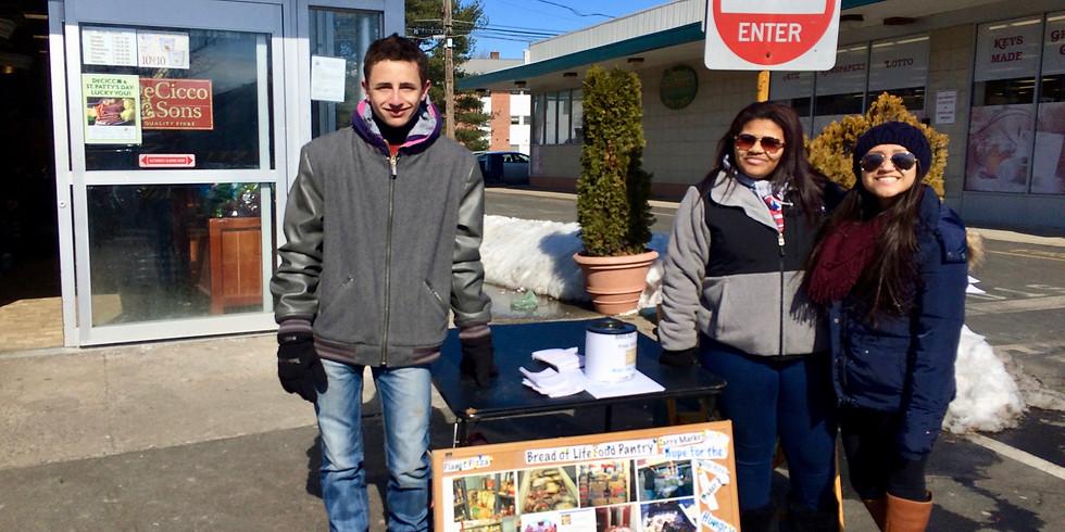 Food Drive Greeniwch Stop & Shop February 22, 2020