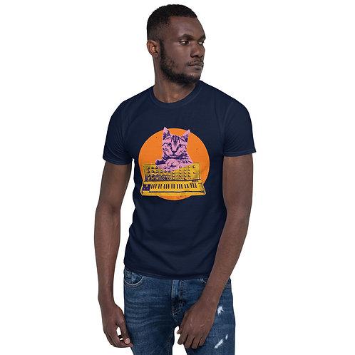 Cat Synthesizer Tshirt