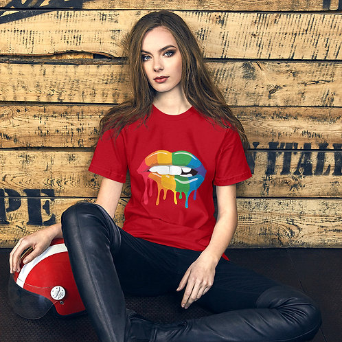 Rainbow Lips Bella-Tshirt