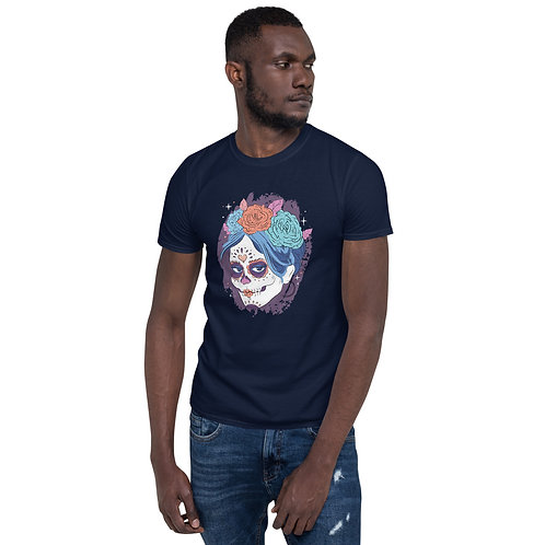 Dia De Los Muertos Skull Tshirt