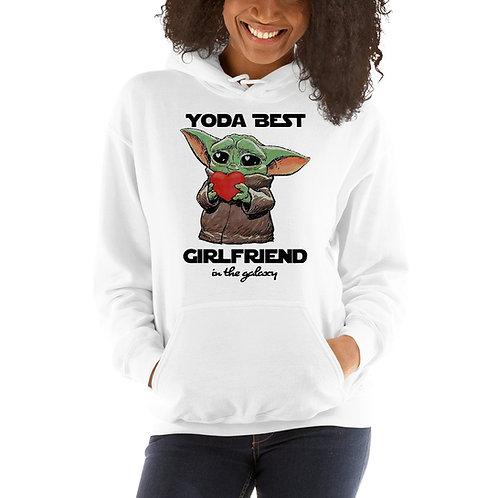 Yoda Best Girlfriend in The Galaxy Hoodie