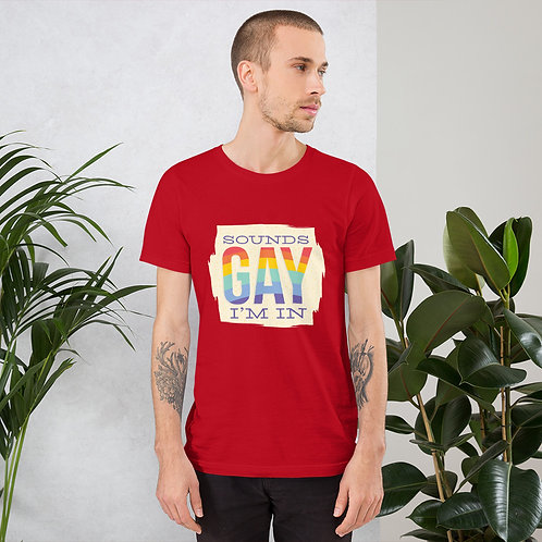 Sounds Gay Bella-Tshirt