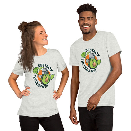 Destroy The Vegans Bella-Tshirt