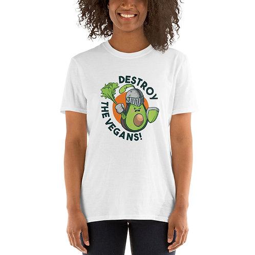Destroy The Vegans Tshirt