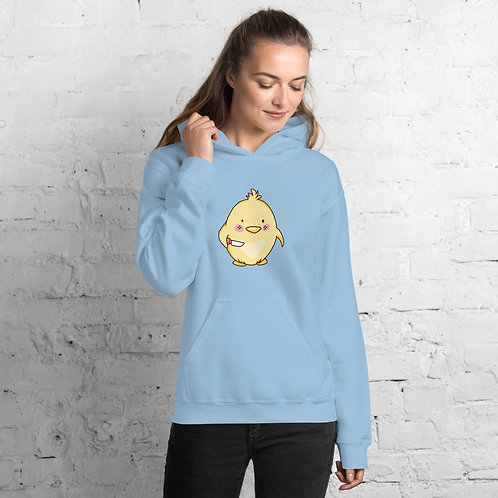 Chick With Knife Hoodie