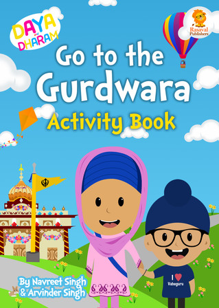 WIN the Daya and Dharam Activity Book