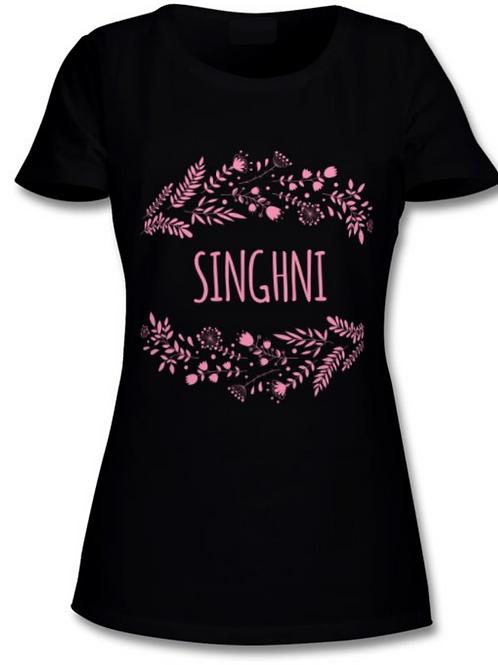 Floral Singhni T-Shirt