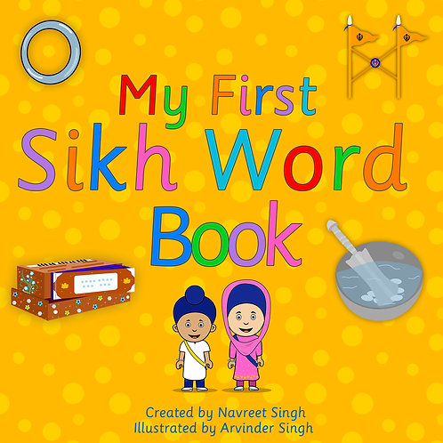 My First Sikh Word Book
