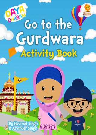 Daya and Dharam Activity Book