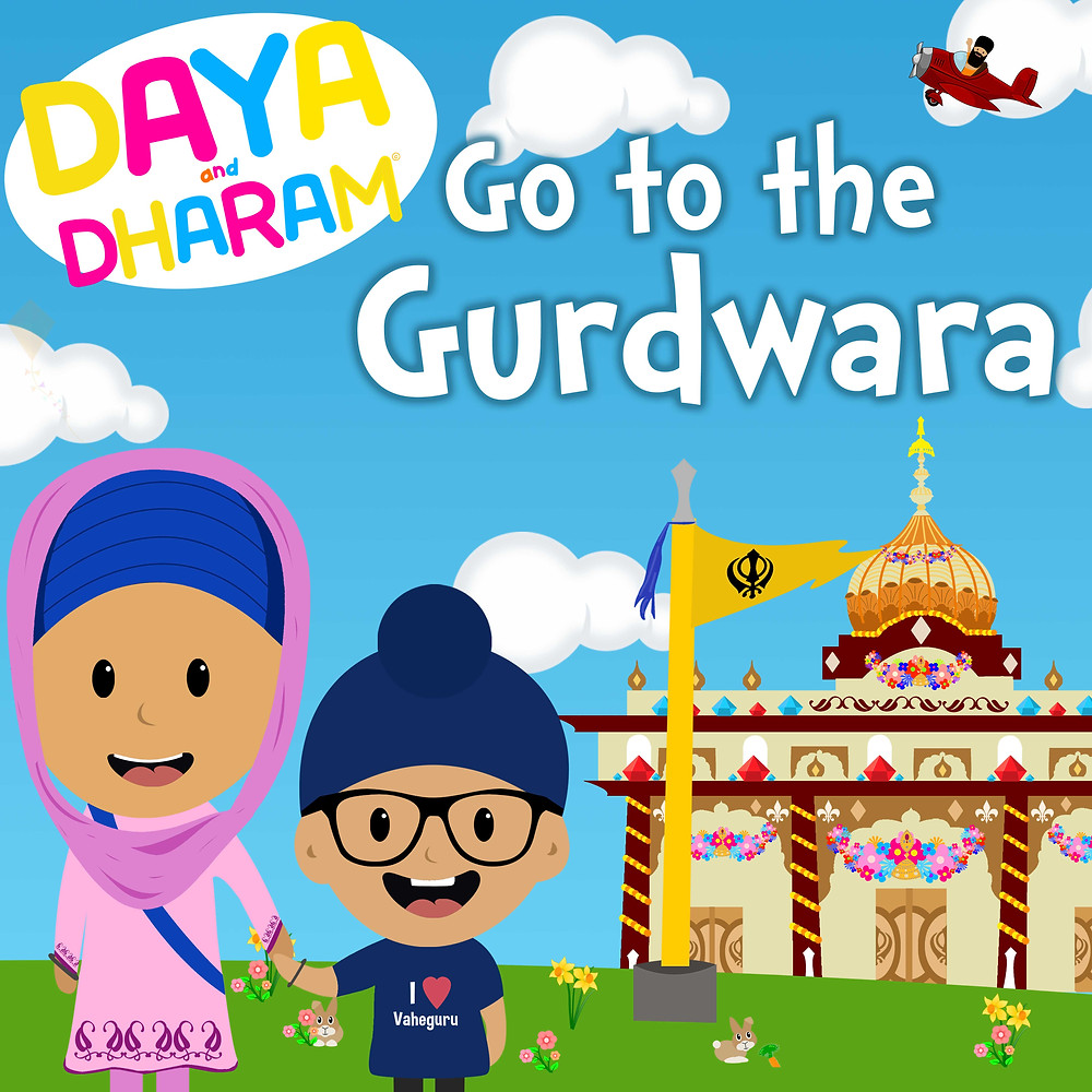 Daya and Dharam Go to the Gurdwara book cover