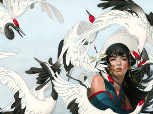 "Staff YA Book Review - ""Six Crimson Cranes"""