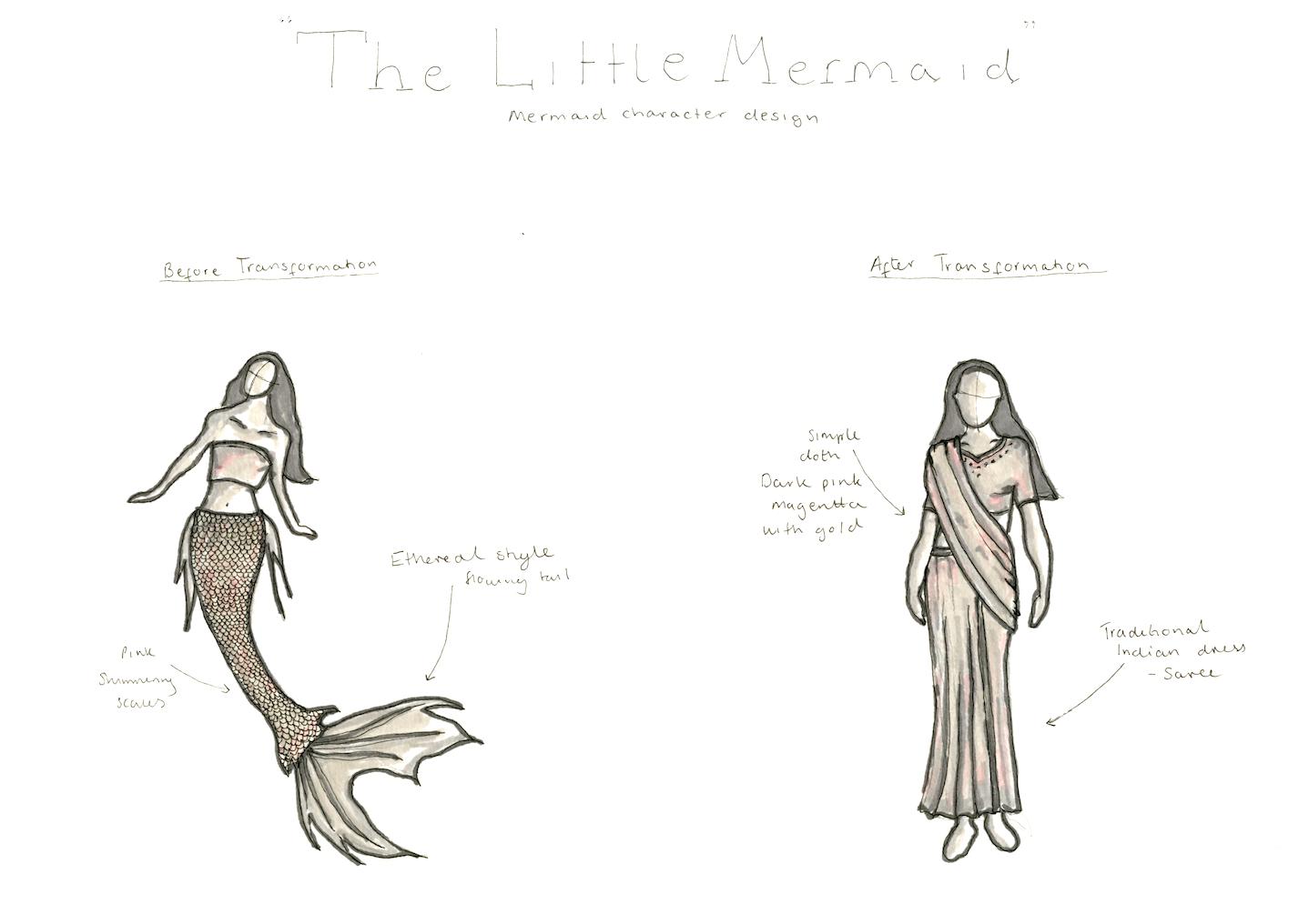 Costume sketch
