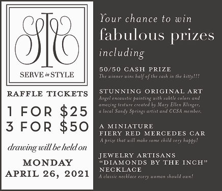 Serve in Style Virtual Event 2021_Raffle