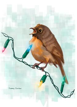 A Christmas Robin