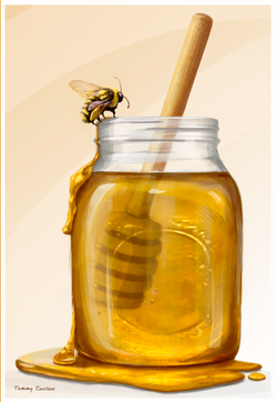 Bee and His Honey :)