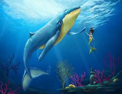 Mermaid & Friend