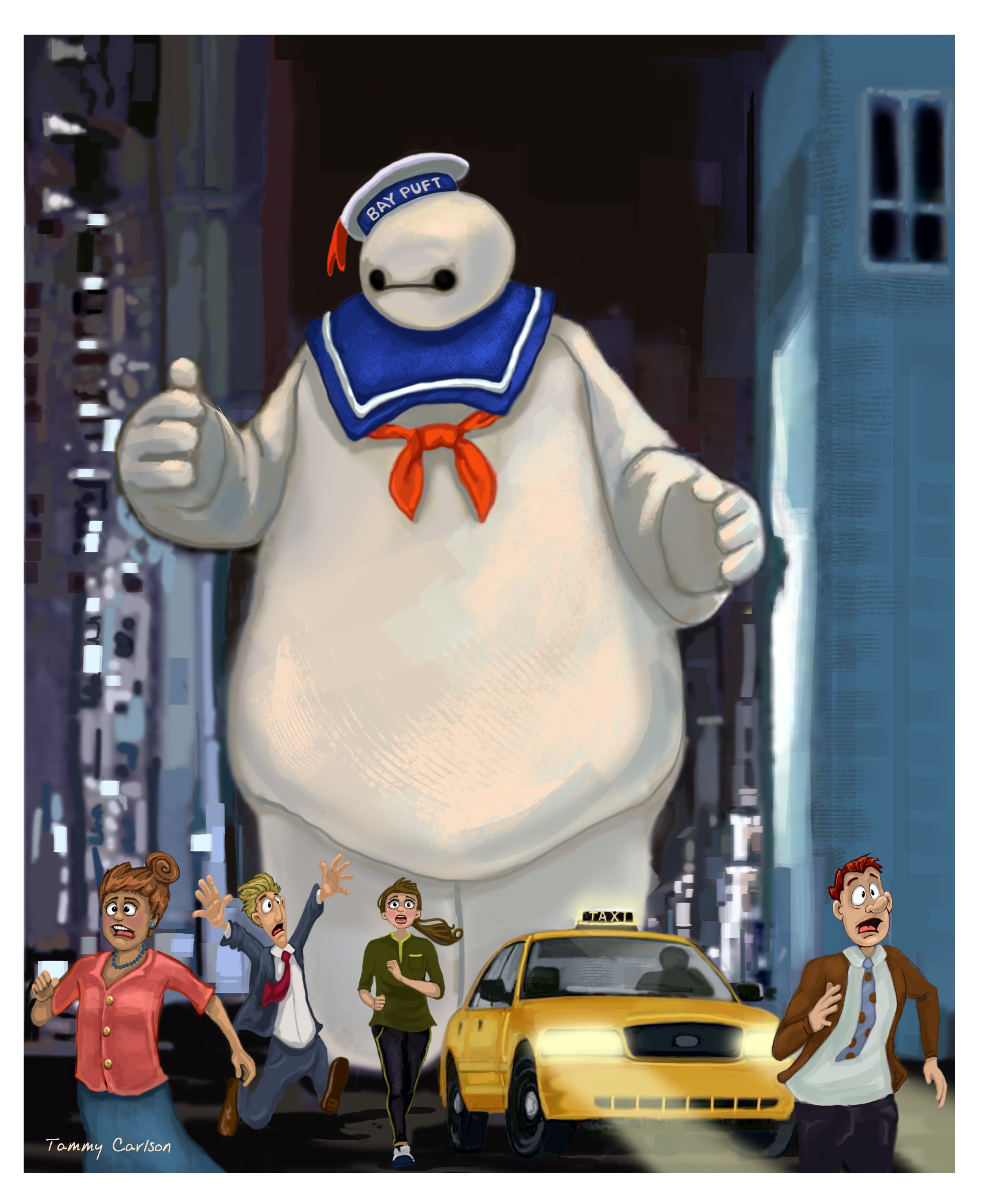Bay Puft Marshmellow Man :)