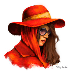 The elusive Carmen Sandigo