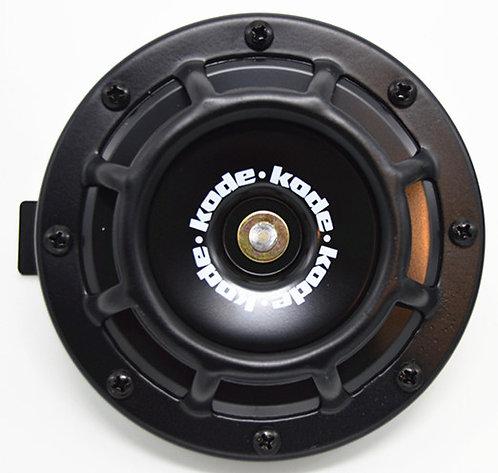 A Pair Universal 12V 5 Compact Super Tone Loud Blast Grill Mount HornBlack
