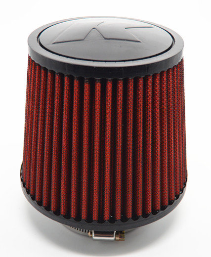 Kode Universal Car Air Filter Induction Kit-Red