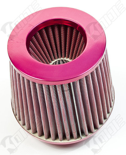 Universal Car Air Filter Induction Kit-Hot Pink