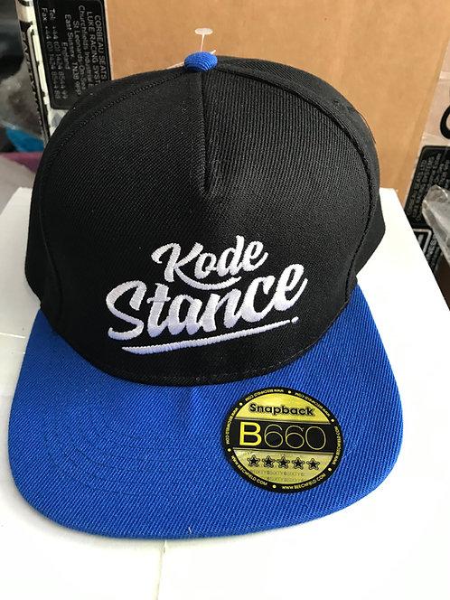 Kode Stance Baseball Hat Automotive Lifestyle Styling-Blue/Black