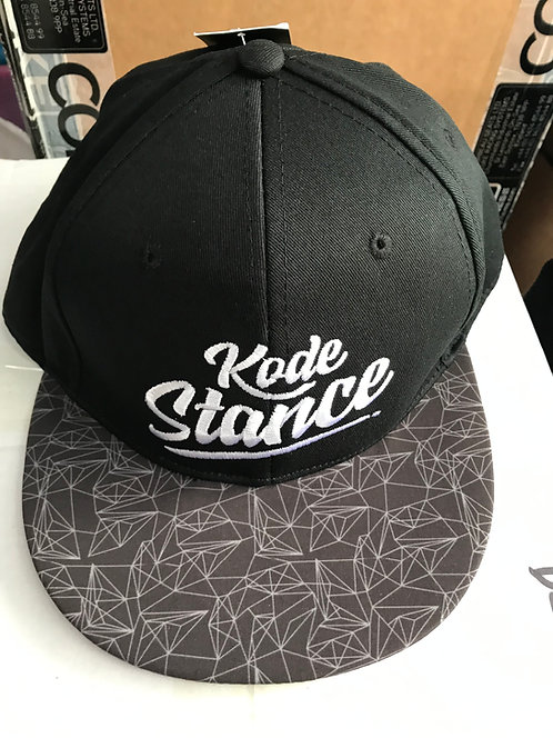 Kode Stance Baseball Hat Automotive Lifestyle Styling-Black