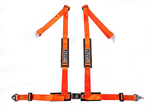 GM4-Sports Road/Track Day Safety Harness Orange