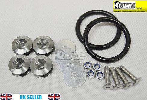KODE Bumper Quick Release Kit Fastener-GREY