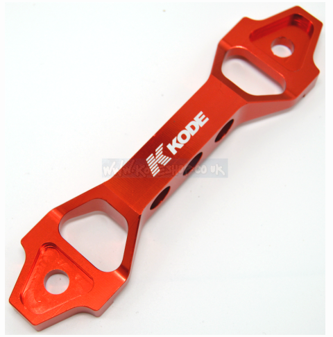 KODE *SMALL* Battery Tie Down Clamp Chunky-RED