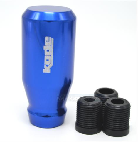 KODE(RZ) Screw On Billet Gear Knob-Blue