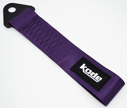 Kode-PURPLE Tow Show StrapTowing Eye Pull Hook Rope Car Styling JDM Euro