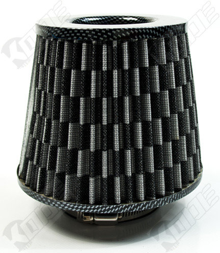 Universal Car Air Filter Induction Kit-Carbon Look