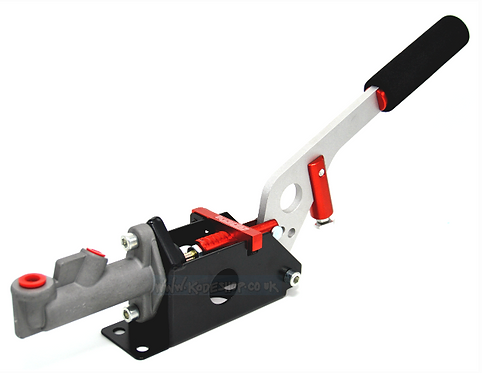 Hydraulic Handbrake Horizontal/Vertical-Red 0.625