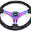 Thumbnail: Kode-350mm Flat Dish Retro ABS Steering Wheel Neo Center Fits MOMO OM