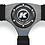Thumbnail: KODE Suede Steering Wheel-Half Dish Blue Stitch