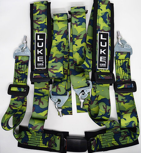 GM4-Sports Road/Track Day Safety Harness Camo Flash