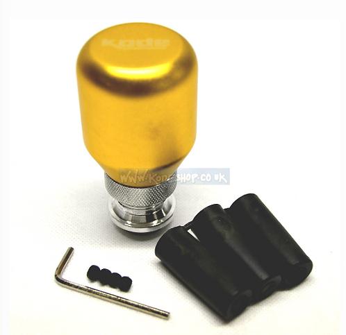 Kode(SL) GOLD Billet Gear Knob Universal Fitment