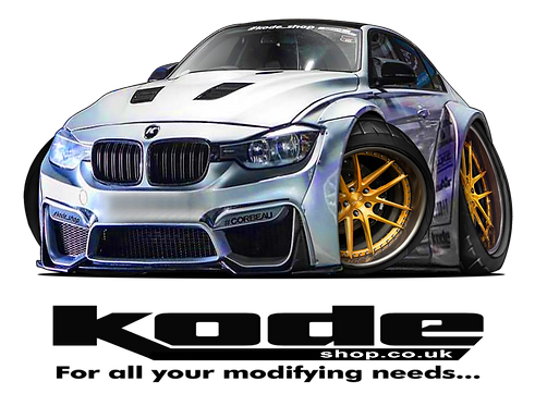 Kode Mug With Image of BMW 3 Serires F30 Wide Arch Bodykit