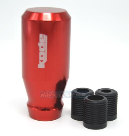 KODE(RZ) Screw On Billet Gear Knob-Red