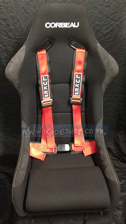 GM4-Sports Road/Track Day Harness-Red