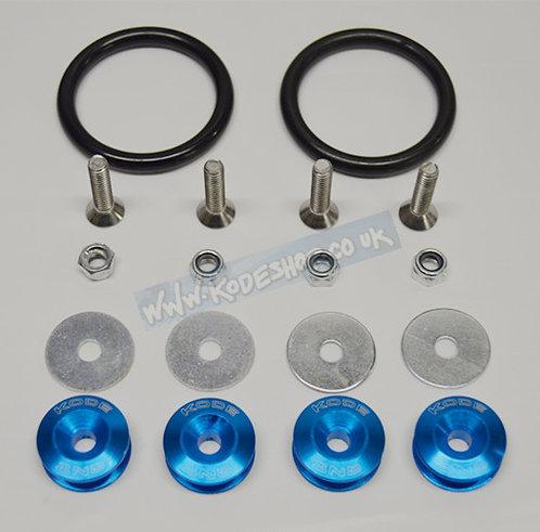 KODE Bumper Quick Release Kit Fastener-AQUA BLUE