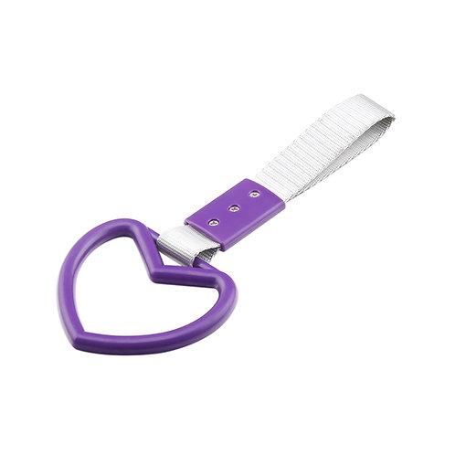 Purple-Heart JDM Hang Ring Subway Train Bus Hold Handle Tow Hook S