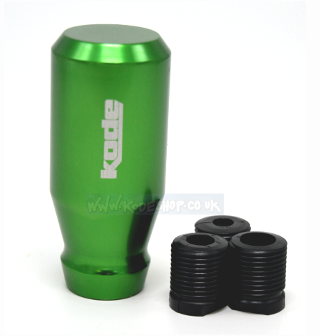 KODE(RZ) Screw On Billet Gear Knob-Green