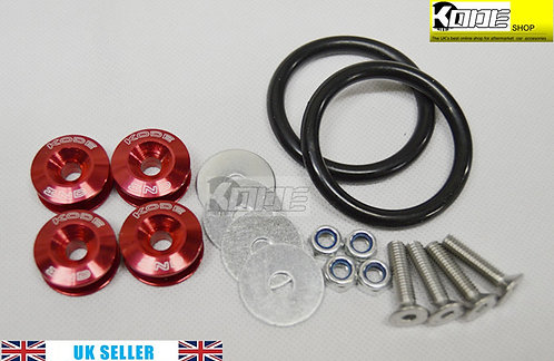 KODE Bumper Quick Release Kit Fastener-RED