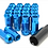 Thumbnail: 1.5 Extended Long Steel Wheel Lug Nut-Blue