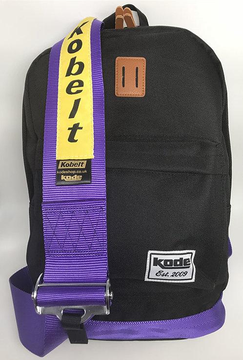 Backpack Kobelt Racing Harness Seat Belt Black with Purple Strap Not Bride JDM