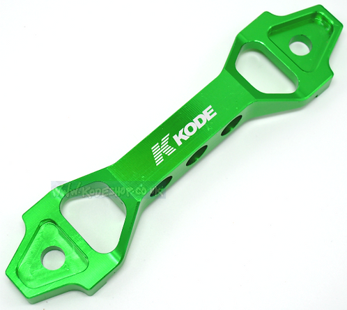 KODE *SMALL* Battery Tie Down Clamp Chunky-GREEN
